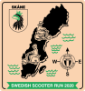 Swedish Scooter Run 2020 logo
